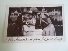 The Franco's The Place For Good Times Vintage RPPC by Davidson Bros 1908  §B366