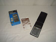 Calculadora Sharp-vintage-modelo EL531GH-Buen estado!!