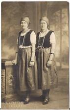 Eastern European Looking Women Bells On Vests Head Scarves ALLENTOWN PA Postcard