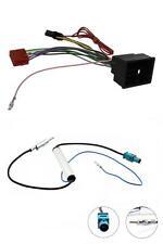 Vauxhall Astra J 10 - 15 Car Stereo Radio Wiring ISO Harness + Aerial Adaptor