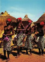 CPM AFRIQUE AFRICA OUAGADOUGOU Trembleuses de Tringréla Edt ATTIE