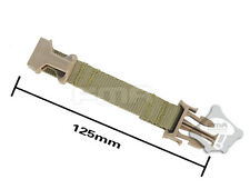 FMA Tactical Military Helmet Hanging Suspension Chin Extender Strap Belt TAN DE