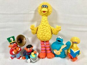Vintage Sesame Street PVC Figures Lot Henson Muppets Inc Applause Tara Toys 80's