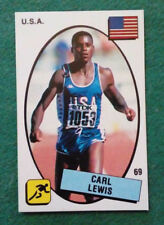 Sticker Figurina PANINI SUPERSPORT CARL LEWIS n.69/PIETRO VIERCHOWOD n.101 rara