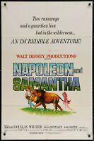 Jodie Foster  Napoleon and Samantha 1972 1-SHEET MOVIE POSTER 27 x 41