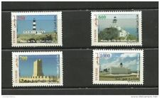 2013-Tunisia-Tunisie/ Lighthouses of Tunisia – Phares de Tunisie/4 v. mnh**