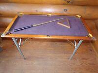 Vintage / Antique Brunswick Balke Collender Junior Pool Table Rare Billiards