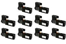 10x 110V AC Solenoid Pneumatic Control Valve 3 Port 3 Way 2 Position 1/4