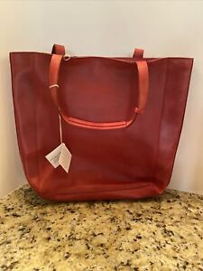 Noonday Collection  100% Leather Tote/Purse-NWT