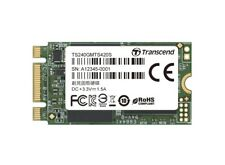 240GB Transcend M.2 SATA III 6Gb/s SSD MTS420 Flash 3D TLC 42mm Factor de forma
