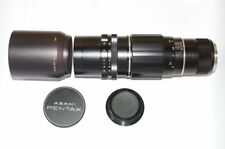 Pentax Tele-Takumar 300mm f6.3 M42 adapter for Pentax K mount with original case