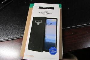 Spigen Samsung Galaxy Note 9 Thin Fit Case Black