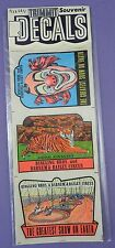 Ringling Bros. & Barnum & Bailey Circus Decals - Original 1950s Mint in Pack - A