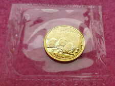 2013 CHINA PANDA GOLD 50 YUAN 1/10 oz COIN - SEALED