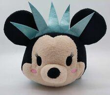 2016 Disney Store Statue of Liberty Minnie Mouse MediumTsum Tsum Mini Plush Toy