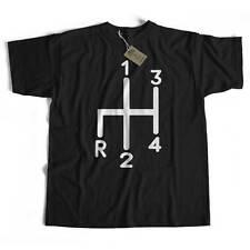 Old Skool Hooligans Classic Car T Shirt - MG / Austin Healey / Mini Gear Stick