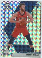 2019-20 Mosaic Nicolo Melli Silver Mosaic Prizm RC #216 New Orleans Pelicans