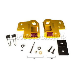 Drivetech 4x4 Recovery Points fits Holden Colorado RG/Dmax TF fits Mercedes-B...