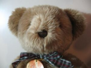 """18"""" plush Soft Classics Teddy Bear doll, made by Russ, good condition"""