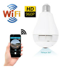 Mini Security IP Camera 360° Panoramic Hidden Camera Cam Light Bulb Camera 360°