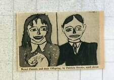 1953 Artwork By Patricia Brooks Aged 11 Proud Parents