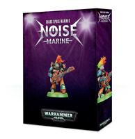 Chaos Space Marines Noise Marine - Warhammer 40k - Brand New! 43-58