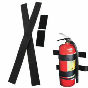 Car, Home Dry Powder Safety Fire Extinguisher with Sticke Bracket L6C0 P4U2