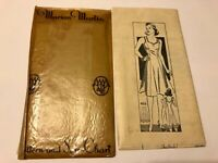 Antique Vintage Marian Martin Slip Dress Pattern w Envelope 1940's