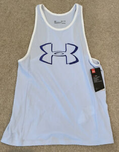 Under Armour Tank Top Heat Gear Tank Top Racerback Athletic Top Size Small NWT