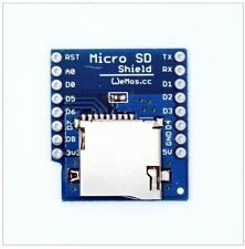 Micro SD Card Shield For Wemos D1 Mini IOT Blynk ESP8266 Arduino Node Mcu uSD