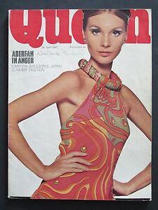 Queen Magazine 26 April 1967 Henri Cartier-Bresson's Japan Vintage Fashion Style