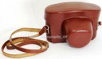 PRATINA IIA & PRIAKTINA FX 35mm SLR Cameras fit Leather Case - ORIGINAL!!