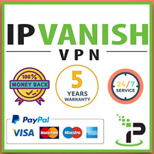 IPVANISH VPN ⭐ PREMIUM ACCOUNT ⭐ 5 YEARS WARRANTY ⭐ FAST SHIPPING & SUPPORT ⭐ ⭐⭐