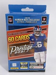 🔥2021 Panini Prestige NFL Football Hanger Box IN HAND! FACTORY SEALED Lawrence