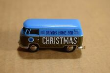Brand New Volkswagen 2012 Holiday VW Bus Driving Home For Christmas Ornament