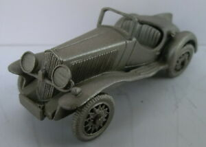 Danbury Mint FIAT 508 S 1935, Standmodell aus Zinn, ca. 6,1 cm lang