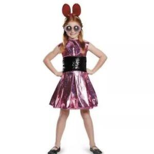 Powerpuff Girls Blossom Costume Size L/G 10-12