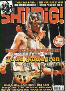 SHINDIG MAGAZINE ISSUE 108 (TODD RUNDGREN, THIRD EAR BAND, KURSAAL FLYERS, TYDE)