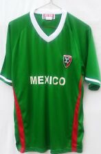 Vintage Mexico National Team Futbol Soccer Jersey by Eb Sports