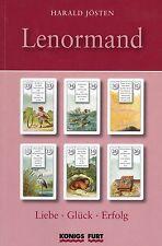 LENORMAND - Liebe - Glück - Erfolg - 36 Tarot Karten & Buch - Harald Jösten