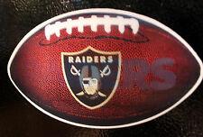 Raiders NFL Magnet Licensed  3D Car Truck Magnet Football oakland and its emblem