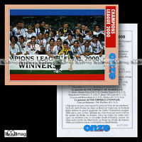 REAL MADRID CHAMPIONS LEAGUE 2000 - Fiche Football 2000