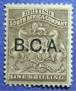 1891 BRITISH CENTRAL AFRICA 1S SCOTT# 7 S.G.# 7 UNUSED                   CS08629