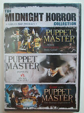 Midnight Horror Collection: Puppet Master, Vol. 2 (DVD, 2011) Brand New (NTSC)