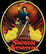 80's Samurai Classic Shogun Assassin Lone Wolf & Cub Poster Art custom tee