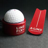 Groovefix Golfball Schnurmarkierer & Putt Ausrichtung Markier (Harrows Form)
