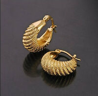Elegant & Stylish 18k Gold Plated Small Hoops Earrings E263