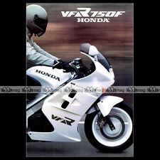 Brochure Moto HONDA VFR 750 F 1995 Dépliant Prospekt PUB #BM215