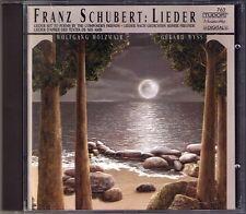Wolfgang HOLZMAIR: SCHUBERT Lieder Die Taubenpost Sehnsucht Im Freien Sterne CD