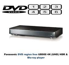 Panasonic DMP-UB900EBK 3D HDR THX 4K MULTI REGION Free DVD 1-6 Blu-ray player